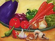 Food And Beverage Paintings - Still Life 4 by Joni McPherson