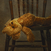 Rejection Posters - Still Life. An Old Toy A  Teddy Bear Poster by Marlene Ford