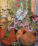 Arkansas Mixed Media Prints - Still Life at White Wagon Farm Print by Tom Herrin