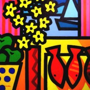 Stylised Prints - Still Life At window II Print by John  Nolan