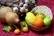 Fruit Arrangement Prints - Still-life Print by Carlos Caetano