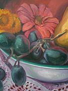 Aleksandra Buha Art - Still Life Grape Medley by Aleksandra Buha