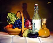 Tablecloth Paintings - Still Life in Oil by Patrick Anthony Pierson