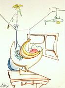 DENNY CASTO - Still life in room