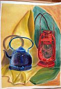 Teapot Drawings - Still Life by Ioannis Macheriotis