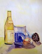 Bistro Paintings - Still Life  by Lessandra Grimley