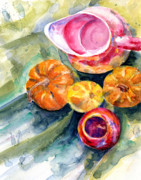 Pitcher Painting Originals - Still Life Local Workshop by John D Benson