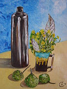 Web Gallery Painting Originals - Still Life Oil Painting by Ekaterina
