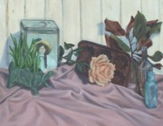 Antiques Paintings - Still Life Portrait Mema by Lindsey Hopkins