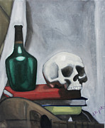 Anthony Nold - Still Life Skull