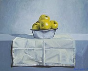 Copy Paintings - Still Life with apples by Paul De Haan