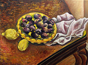 Vladimir Kezerashvili - Still Life with Figs