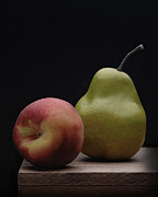 Professional Photographers Pyrography Metal Prints - Still Life with Fruits Metal Print by Krasimir Tolev