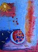 Aliza Souleyeva-Alexander - Still life with grapes...
