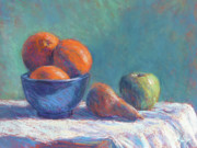Fruit Still Life Originals - Still life with Oranges by Michael Camp