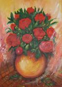 Rita Fetisov - Still life with roses