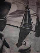 Still Life With Salt Shaker Print by Estephy Sabin Figueroa