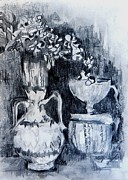 Still Life With Vases Print by Jolante Hesse