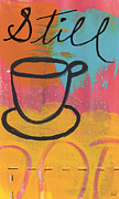 Coffee House Prints - Still Print by Linda Woods