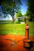 Old Water Pump Prints Prints - Still Pumpin Print by Heather Watson