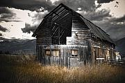 Abandoned Buildings Framed Prints - Still Standing Framed Print by Wayne Sherriff
