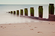 Groyne Prints - Still Waters Print by Michaela Gunter