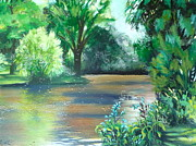 Pathways Painting Originals - Still Waters by Tammy Watt