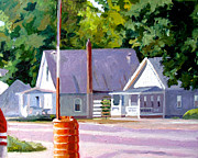 Small Town America Prints - Stillness Print by Charlie Spear