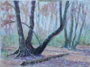 Ground Pastels - Stillness of Morning by Julie Mayser