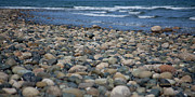 Reflection Of Rocks In Water Posters - Stillness or Motion Poster by Delores J Montpetit