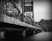 Metal Bridge Posters - Stillwater Bridge  Poster by Perry Webster