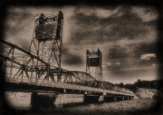 Stillwater Art - Stillwater Lift Bridge by Jimmy Ostgard