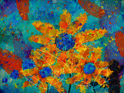 Multicolor Posters - Stimuli Floral -s01t01 Poster by Variance Collections