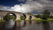 Grant Glendinning Framed Prints - Stirling bridge Framed Print by Grant Glendinning