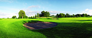Golf Originals - Stirling Golf Club 12th Green by Jan Faul