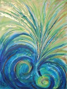 Prophetic Art Painting Originals - Stirring Up Deep Wells by Deborah Brown