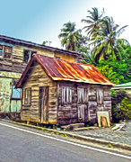 Gregory Dyer - StLucia - Rusted Shack