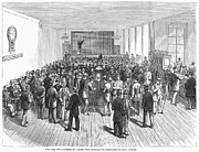 American City Prints - Stock Exchange, 1878, Print by Granger
