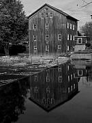 Indiana Landscape Posters - Stockdale Mill Poster by Michael L Kimble