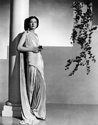 Floor-length Prints - Stolen Holiday, Kay Francis, 1937 Print by Everett