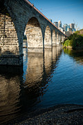 Whalen Photography Photos - Stone Arch Bridge Two by Josh Whalen