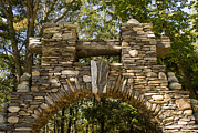 Medieval Entrance Prints - Stone Archway At The Entrance Print by Todd Gipstein