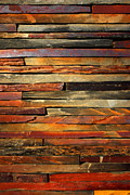 Weathered Metal Prints - Stone Blades Metal Print by Carlos Caetano