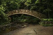 Fieldstone Photos - Stone Bridge In The Woods by Richard Gregurich