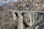 Stone Bridge Photos - Stone bridge by Mats Silvan