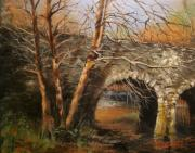 Stone Bridge Print by Tom Shropshire