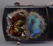 Belt Buckle Jewelry - Stone Buckle by John Maringola