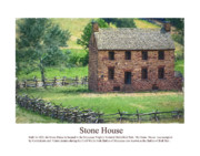 Stone House Digital Art Prints - Stone House Print by Don Lovett