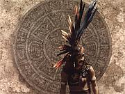 Aztec Paintings - Stone of the Fifth Sun... by Will Bullas