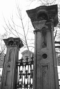 Fences Originals - Stone Pillars by Reb Frost